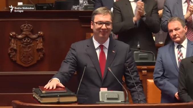 Znaš li, o Vučiću, najveći među Brankovićima, najgori ste od najgorih, neokomunisti desničari