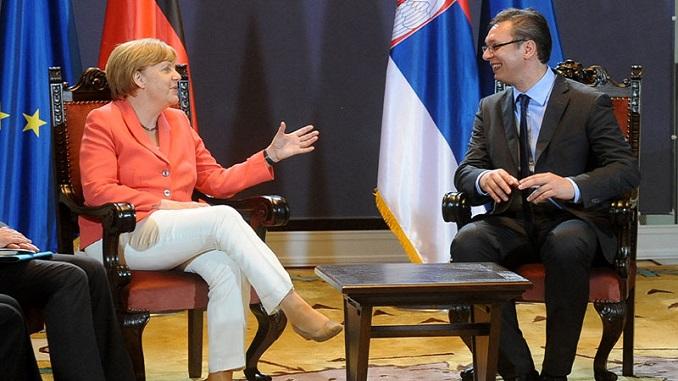 Merkelova tražila susret s Vučićem u Njujorku
