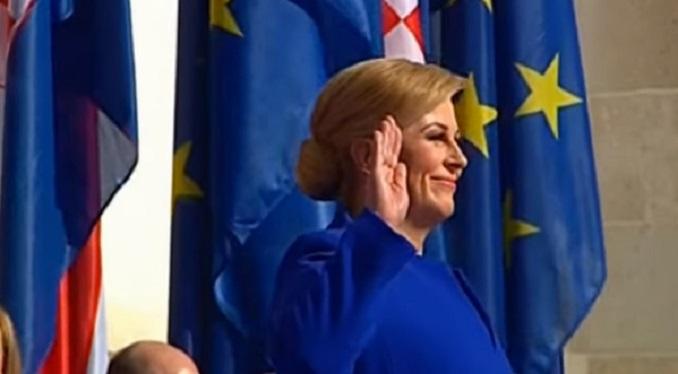 Kitarovićeva otkrila spomenik saradniku fašističkih okupatora