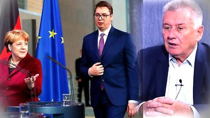 Ilić: Dok se Vučić kao neka smlata šeta pored Merkelove, ona Tačiju obećava svaku pomoć
