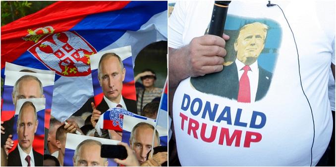 Nešto nije u redu sa narodom koji se deli po tome da li treba dati dupe Rusima ili Amerima