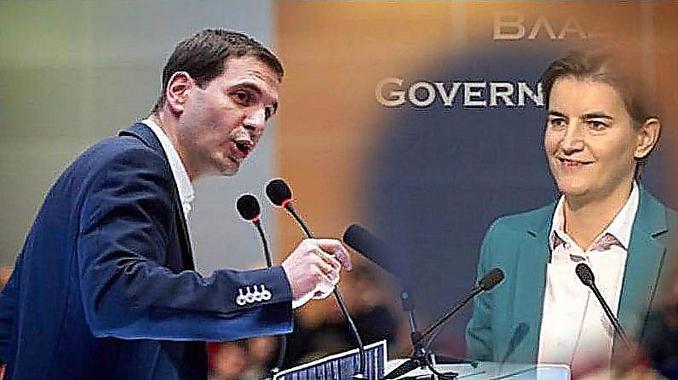 DSS: Prazne priče, drskost, neznanje i besmislice Ane Brnabić