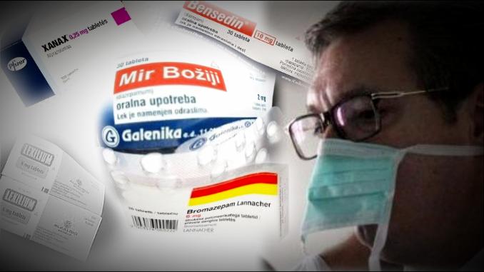Srbija na lekovima za smirenje: Godišnje se troši 5,3 miliona kutija sedativa