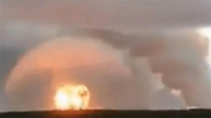 Snimak eksplozije u nuklearnom postrojenju u Rusiji!