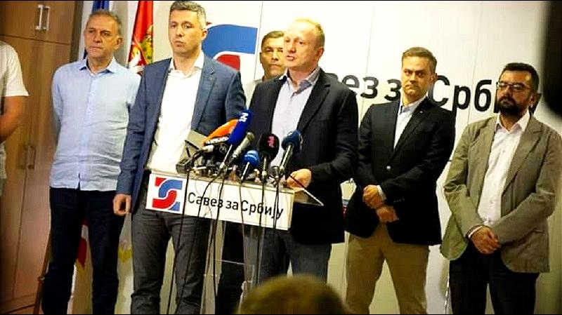 Savez za Srbiju: Potpuno smo jedinstveni u bojkotu Vučićevih lažnih izbora