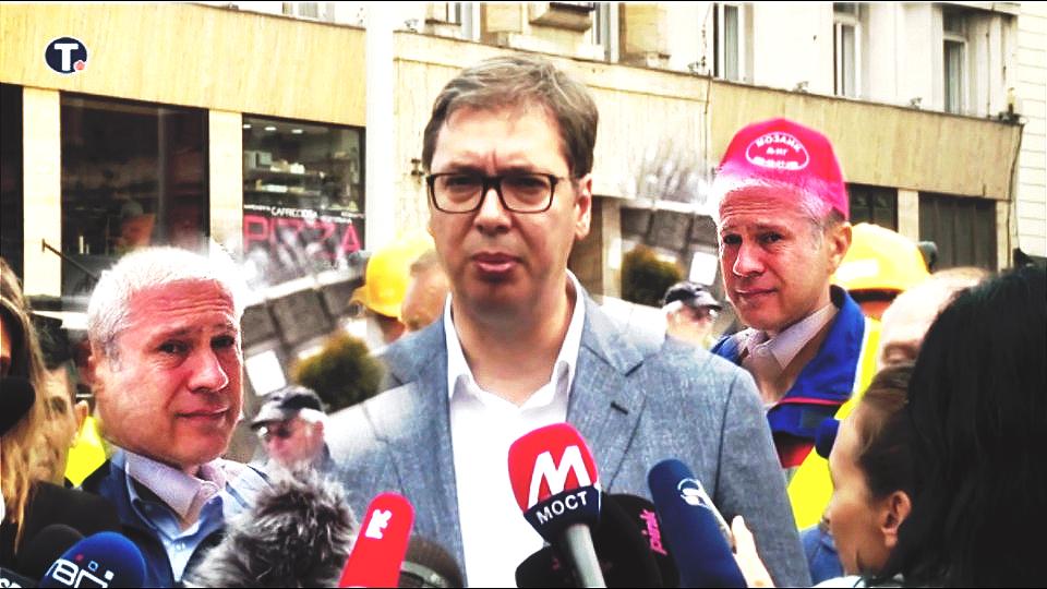 """Vučić: Čist sam kao suza dok Tadićev """"uplašeni izraz lica"""" pokazuje da strahuje da neko ne otkrije šta je sve radio"""