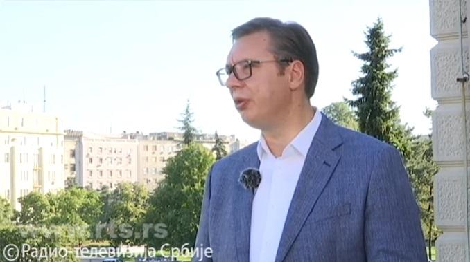Vučić posetio porodicu Stanike Gligorijević, žene stradale na naplatnoj rampi u Doljevcu