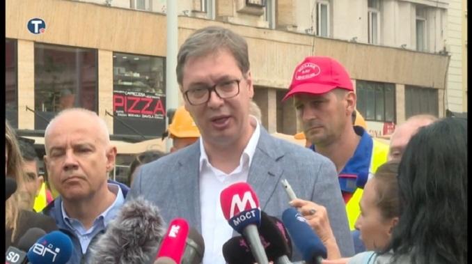 Vučić: Čemu histerija zbog Gorana Vesića?