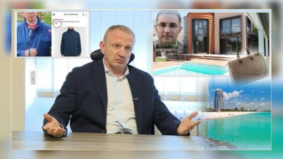 Đilas: Otkud Vučiću jakna od 3.500 evra, Stefanoviću kuća na Bežanijskoj kosi i Luj Viton torba za ženu, ko je išao u Majami kad su se delile pare…