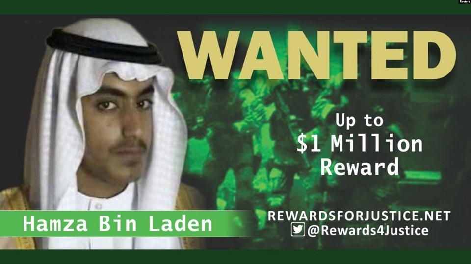 Bela kuća: Ubijen Hamza bin Laden