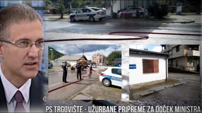 PSS: Stefanović u Trgovištu, krečenje fasada, pranje ulica i ispiranje biografija