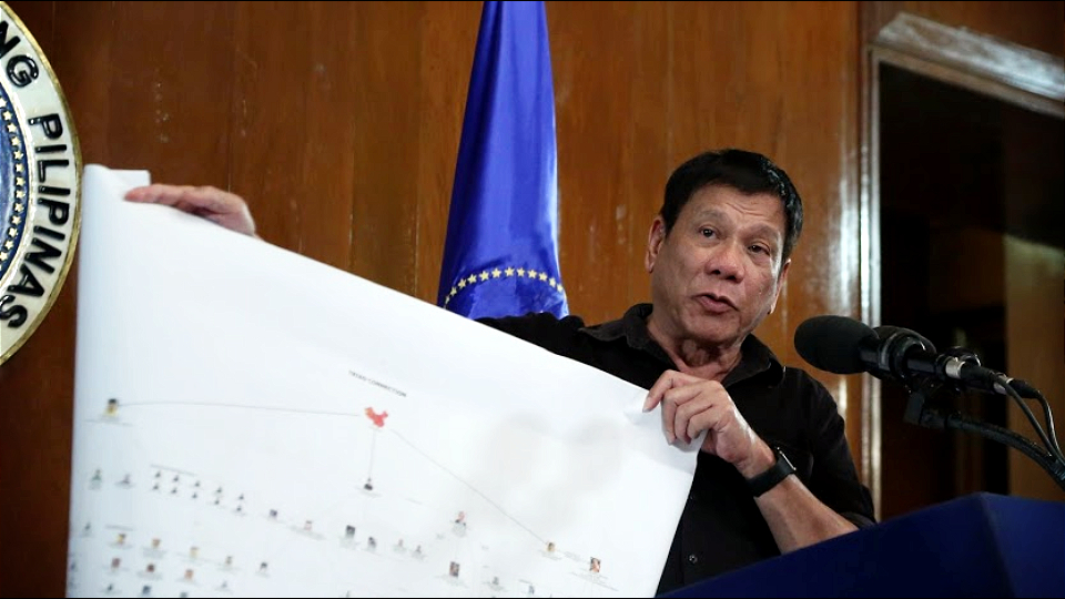 Duterte pozvao ruske sveštenike u borbu protiv terorista