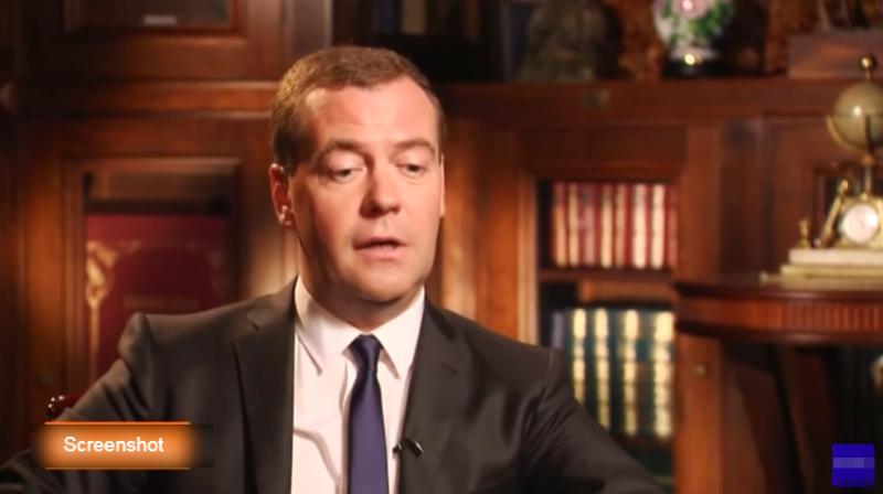 Medvedev 20. oktobra govori u Skupštini Srbije