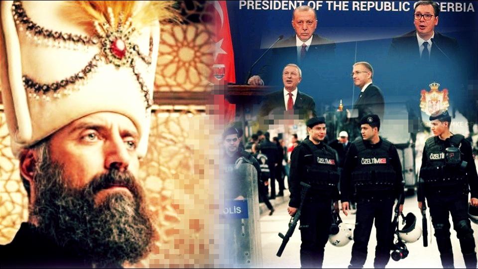 Turci će opet zavoditi red i mir u Srbiji