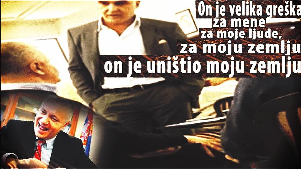 Mlađan Dinkić je velika greška! Za mene, za moje ljude, za moju zemlju! On je uništio moju zemlju!