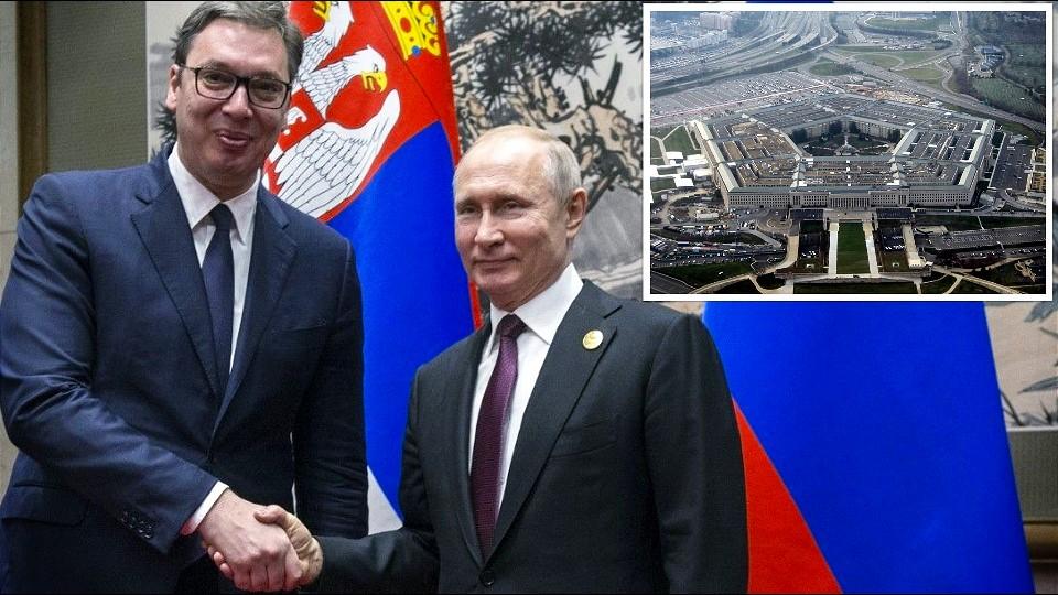 Ministarstvo odbrane SAD: Ruski uticaj u Srbiji porastao dolaskom Vučića na vlast