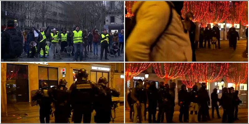 "U Parizu suzavac, gore automobili, ""Žuti prsluci"" se tuku s policijom"