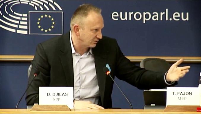 Đilas u Evropskom parlamentu: Ovo je Srbija – zemlja u kojoj šalju policiju na radnike Pošte koji štrajkuju
