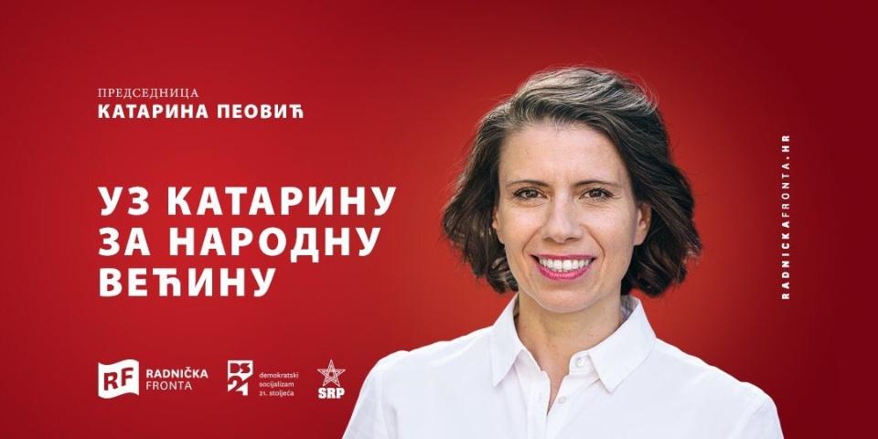 Svetlo Hrvatske i kandidat za predsednicu Katarina Peović: Škoro je HDZ-ov tajkun; Konfiskacija preduzeća koja ozbiljno krše radnička prava