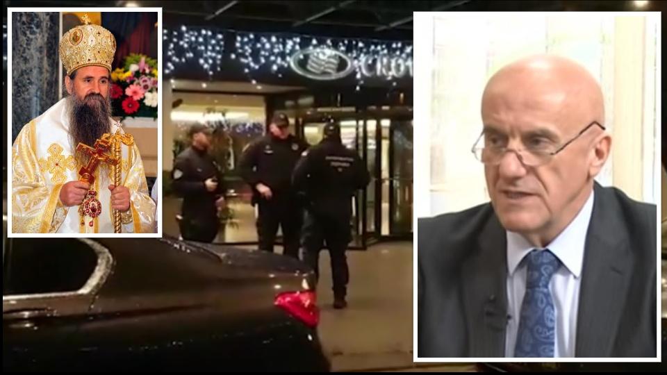 Na crnogorskog trgovca oružjem pucano iz snajpera dok je sa vladikom Joanikijem ulazio u hotel Kraun plaza