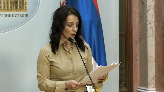 """Tepić: Prijavila sam Interpolu """"nestanak"""" republičke javne tužiteljke Dolovac"""