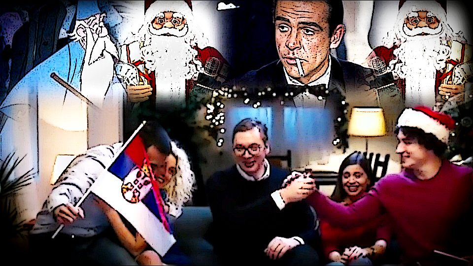 """Vučić čini čuda i zna vekovima skrivanu tajnu """"da li postoji Deda Mraz"""" (VIDEO)"""
