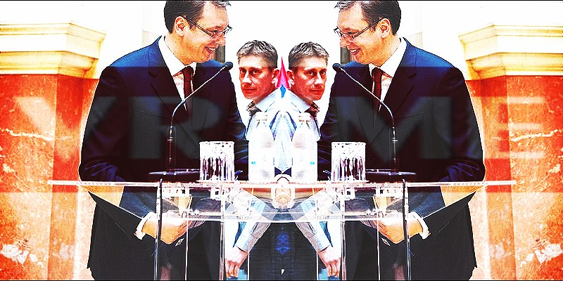 """""""Da je Vučić kreten, budala i da ne zna ništa, reči su Aleksandra Martinovića"""""""