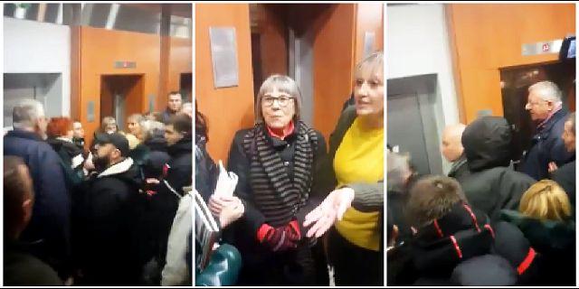 Šešelj izbacio Natašu Kandić sa promocije knjige o Srebrenici (VIDEO)