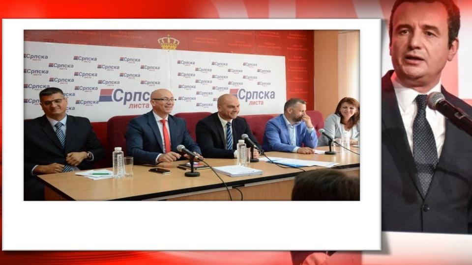 Kurti: Srpska lista je spremna za saradnju, ne glasaju protiv