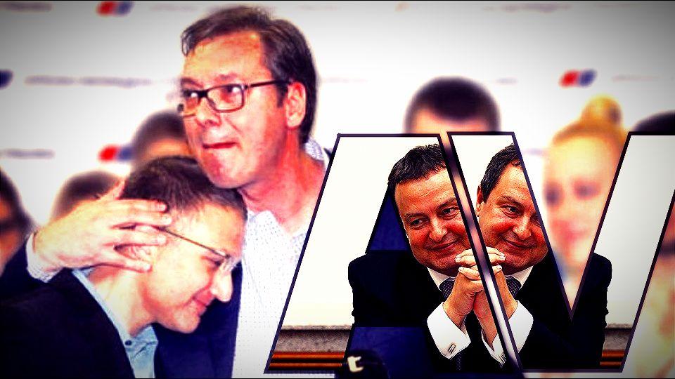 Stefanović: Vučić radi za Srbiju često i na svoju štetu, Dačić radi ono što mu odgovara