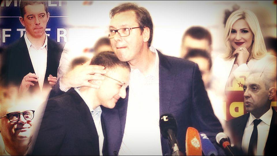 Ko se najviše udvara Vučiću i rat klanova u SNS