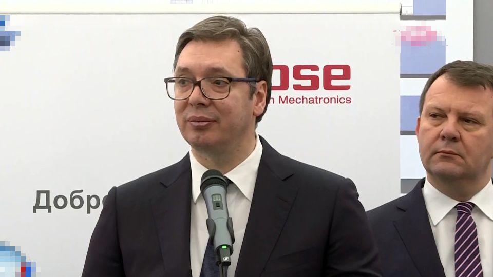 Vučić: Dijalog treba da se nastavi uprkos optužnici protiv Tačija