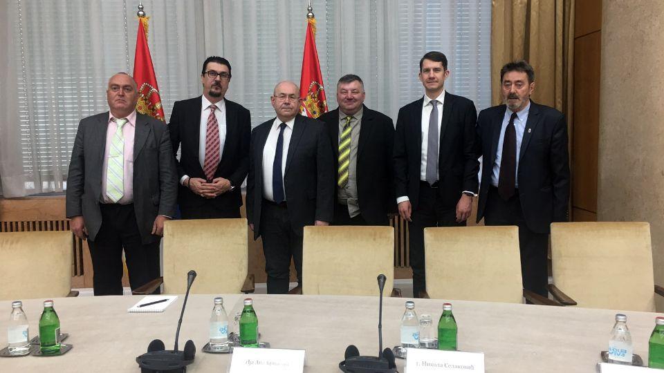 U Palati Srbija u toku sastanak predsednika Srbije sa predstavnicima političkih stranaka