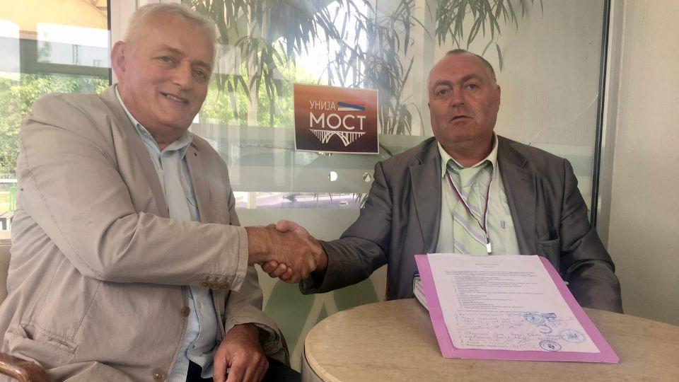 """Pokret bugarske nacionalne manjine """"BRATSTVO"""" pristupio Uniji MOST"""