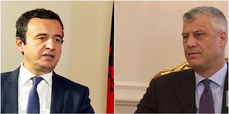 Kosovsko tužilaštvo prikuplja informacije povodom Tačijevih optužbi Kurtija