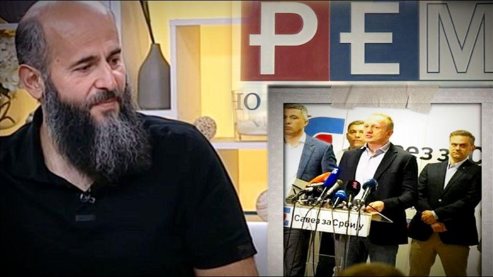 REM: U medijima najviše vremena za SzS, najmanje za Zukorlića