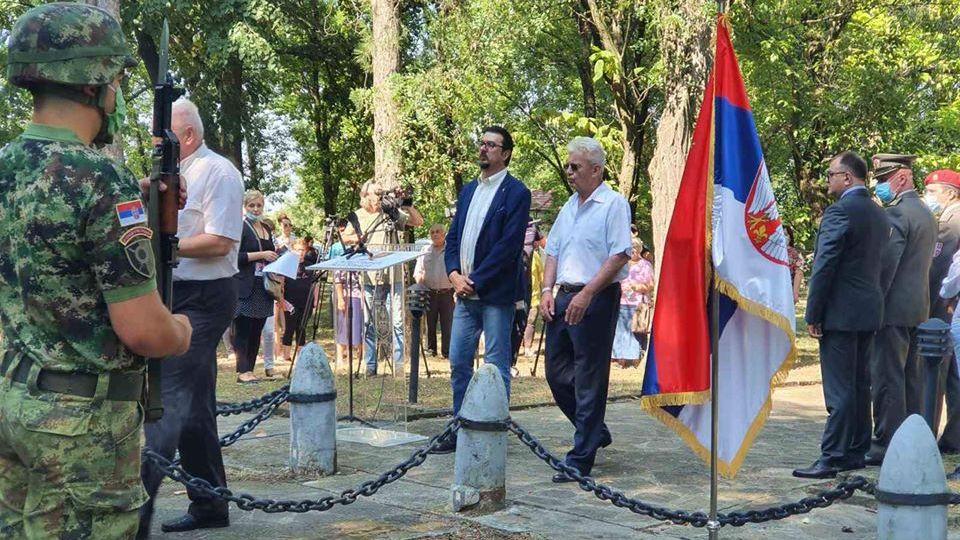 Jovanović na obeležavanju godišnjice Boja na Ivankovcu: Umesto uniforme, diplomatijom i razgovorom do pomirenja