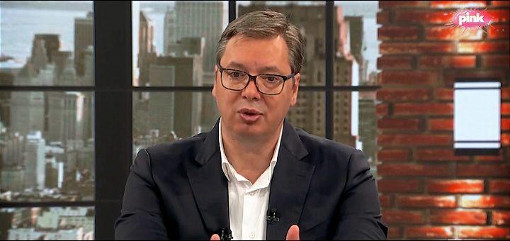 Vučić: Da mi je glava na panju čuvaću nacionalne interese i odbiću sastanak s Trampom ako bude iznenađenja