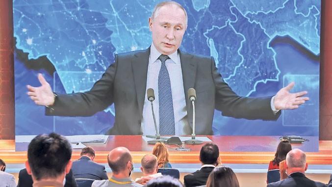 Putin: Zar mislite da smo mi Rusi budale!?