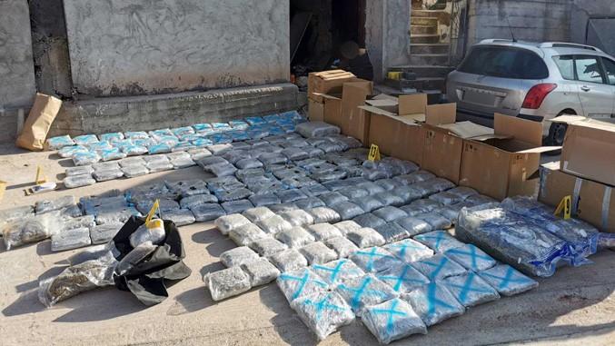U okolini Niša zaplenjeno 220 kilograma marihuane