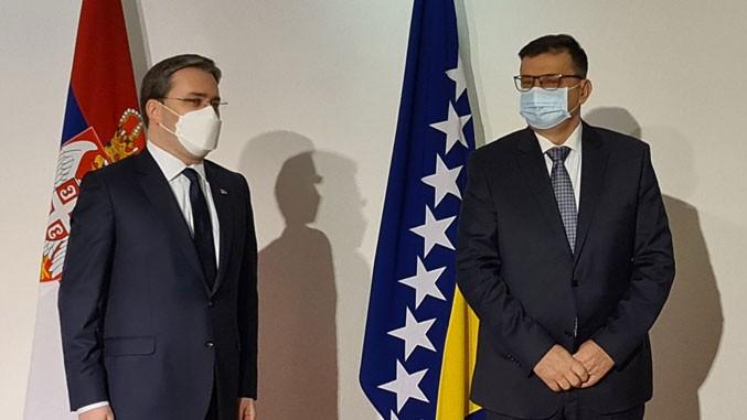 Odnosi Srbije i BiH dobri, ima i otvorenih pitanja