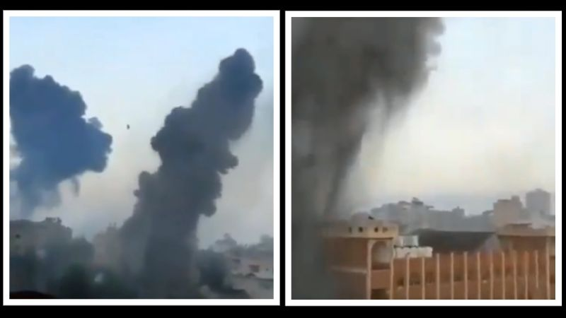Lete rakete, gore gradovi: Sirene za uzbunu od ranog jutra u Tel Avivu, oblaci dima nad Gazom (VIDEO)