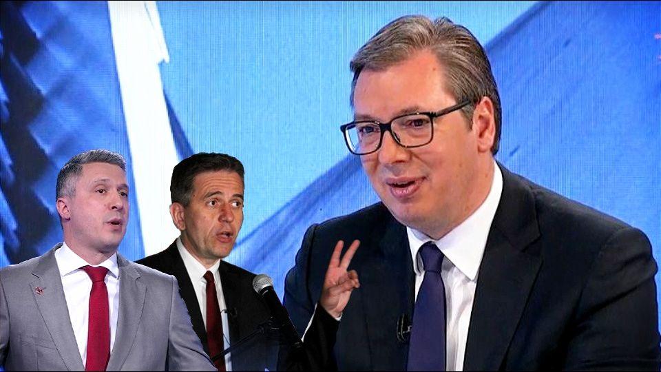 Vučić: Veoma sam zadovoljan razgovorom sa liderima Dveri i Dosta je bilo