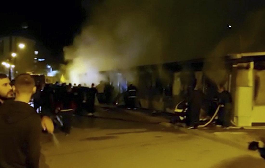 TRAGEDIJA-Najmanje 10 žrtava u požaru u kovid bolnici u Tetovu, hitna sednica vlade